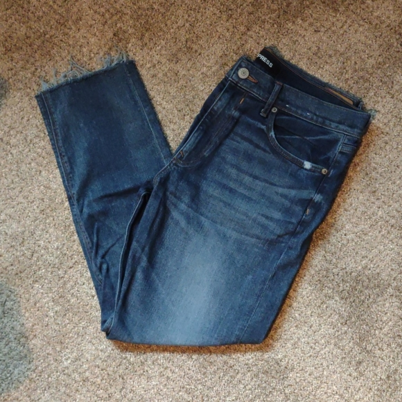 Express High waisted vintage skinny jeans